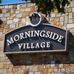 morningsidevillagesign